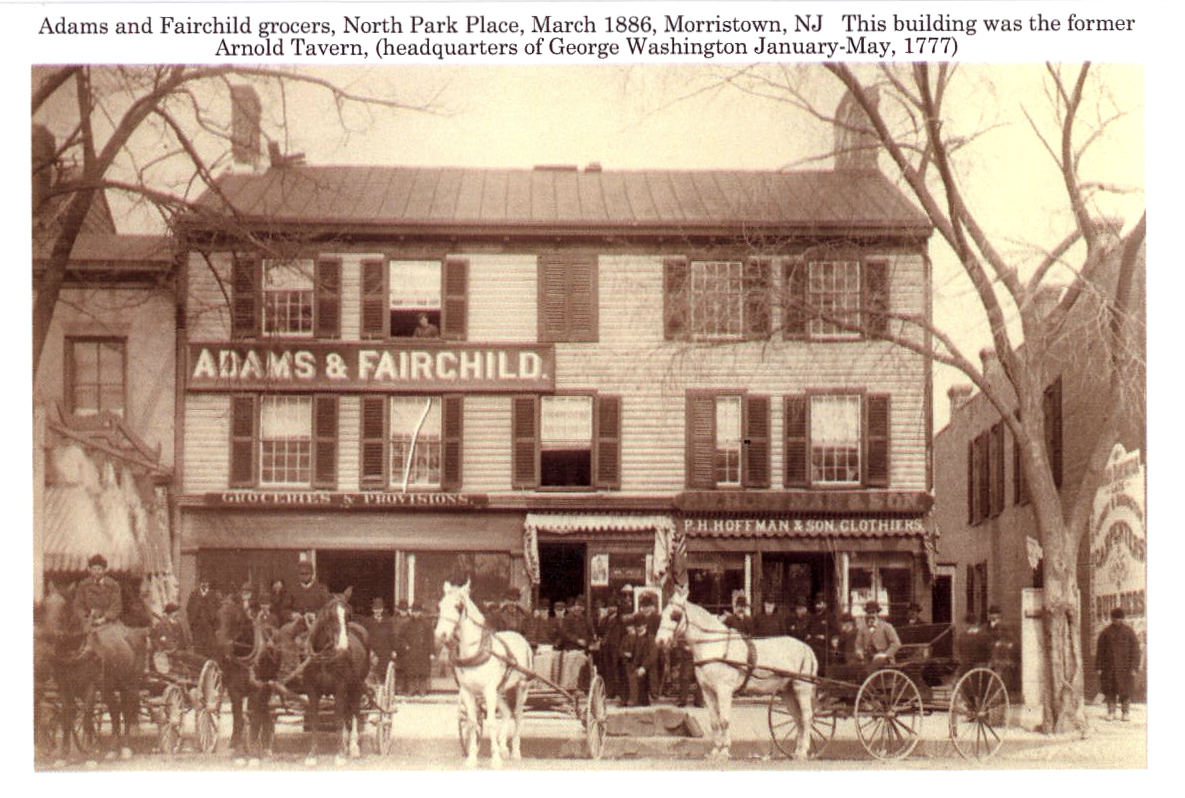 Adams and Fairchild Grocers