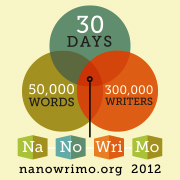 Novel Writing Month Logo