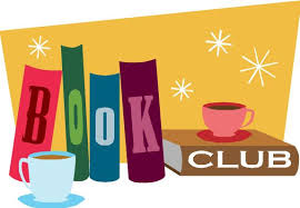 Book Club logo with coffee cups
