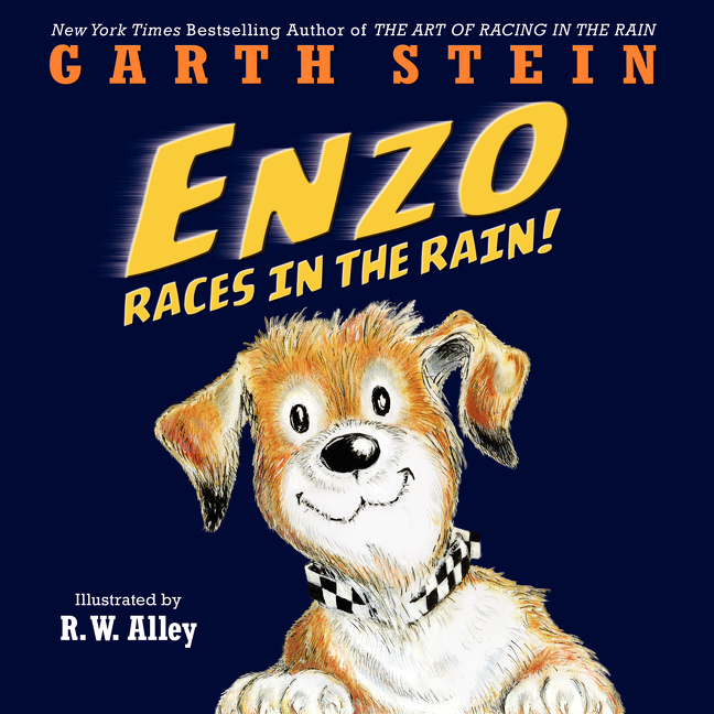 Enzo races in the rain