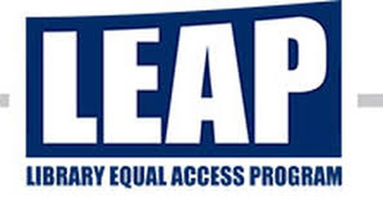 LEAP Library Equal Access Program Logo
