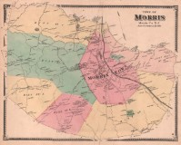 Beers Atlas of Morris Township, 1868