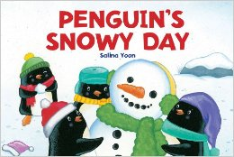 penguin's snowy day