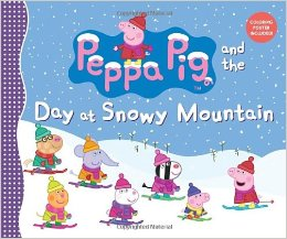 peppa pig and the day at snow mountain