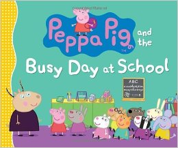 Peppa Pig and her busy day at school