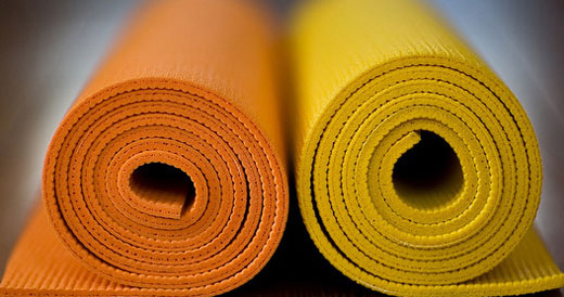 Photo of yoga mats