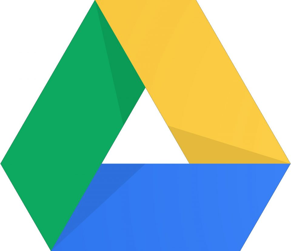 The Google drive symbol