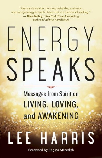"Book Cover for ""Energy Speaks"" by Lee Harris"
