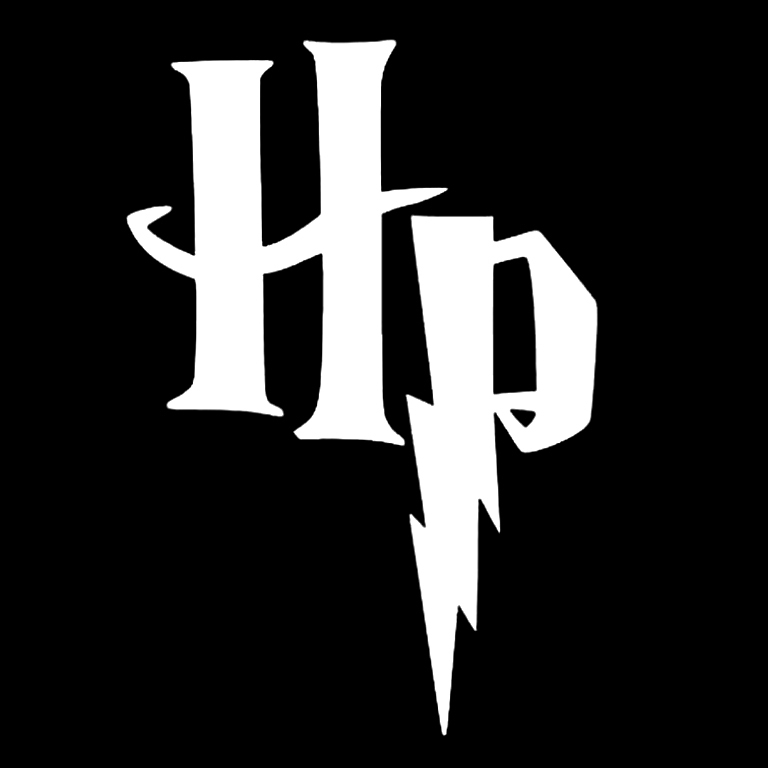 "The ""HP"" Harry Potter logo"