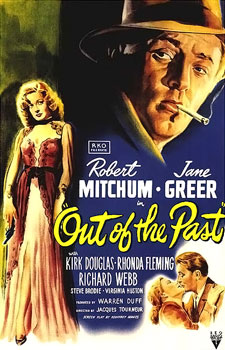 "Movie cover for ""Out of the Past"""