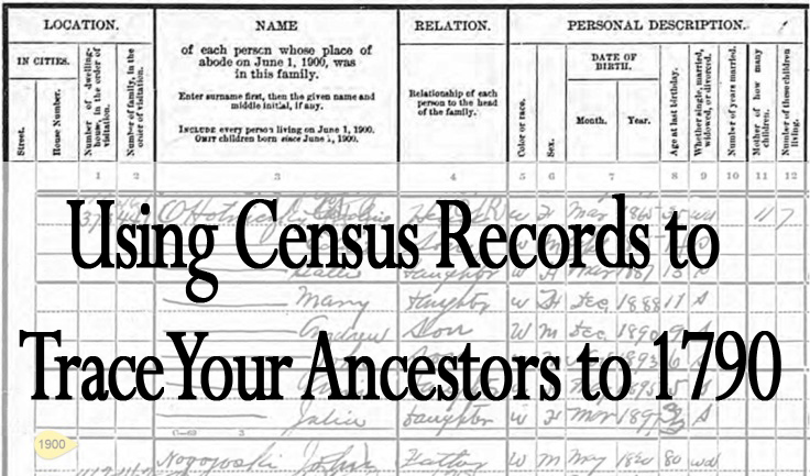 Genealogy Workshop Series: Using Census Records