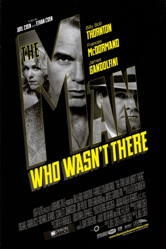 "Film Series: Film Noir Modern ""The Man Who Wasn't There"" (2001)"