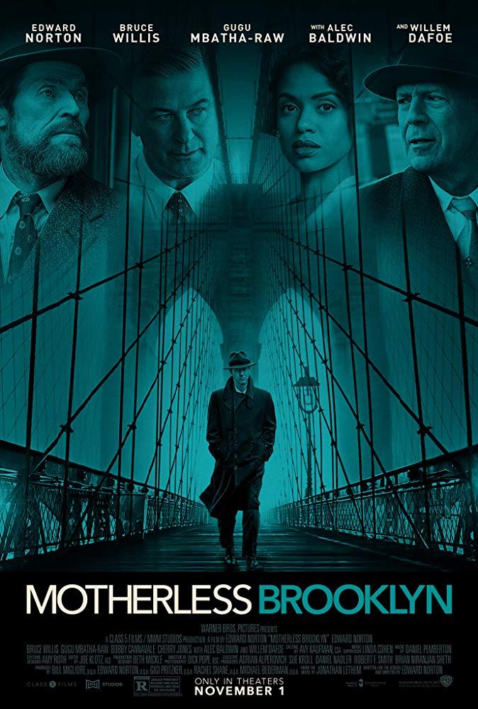 """Film Series: Film Noir Modern """"Motherless Brooklyn"""" (2019)"""