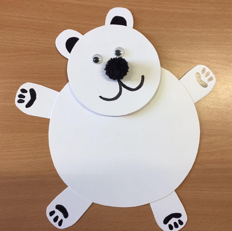 International Polar Bear Day Craft Table