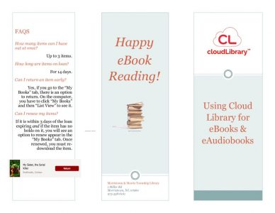 thumbnail of Cloud Library tri-fold