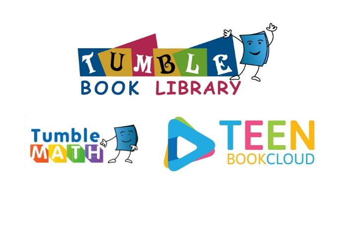TumbleBooks Library, Tumble Math, Teen Book Cloud
