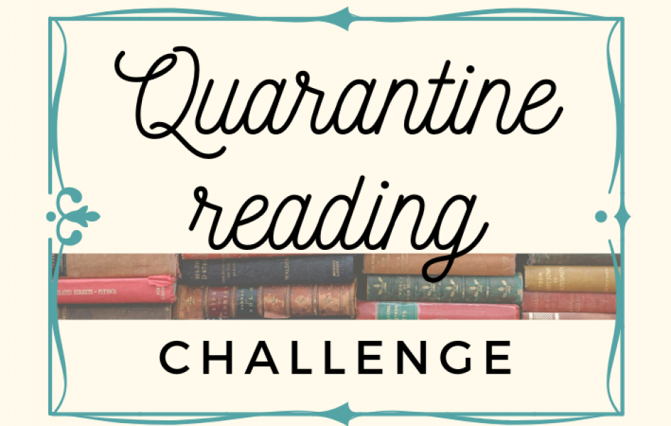Quarantine reading challenge