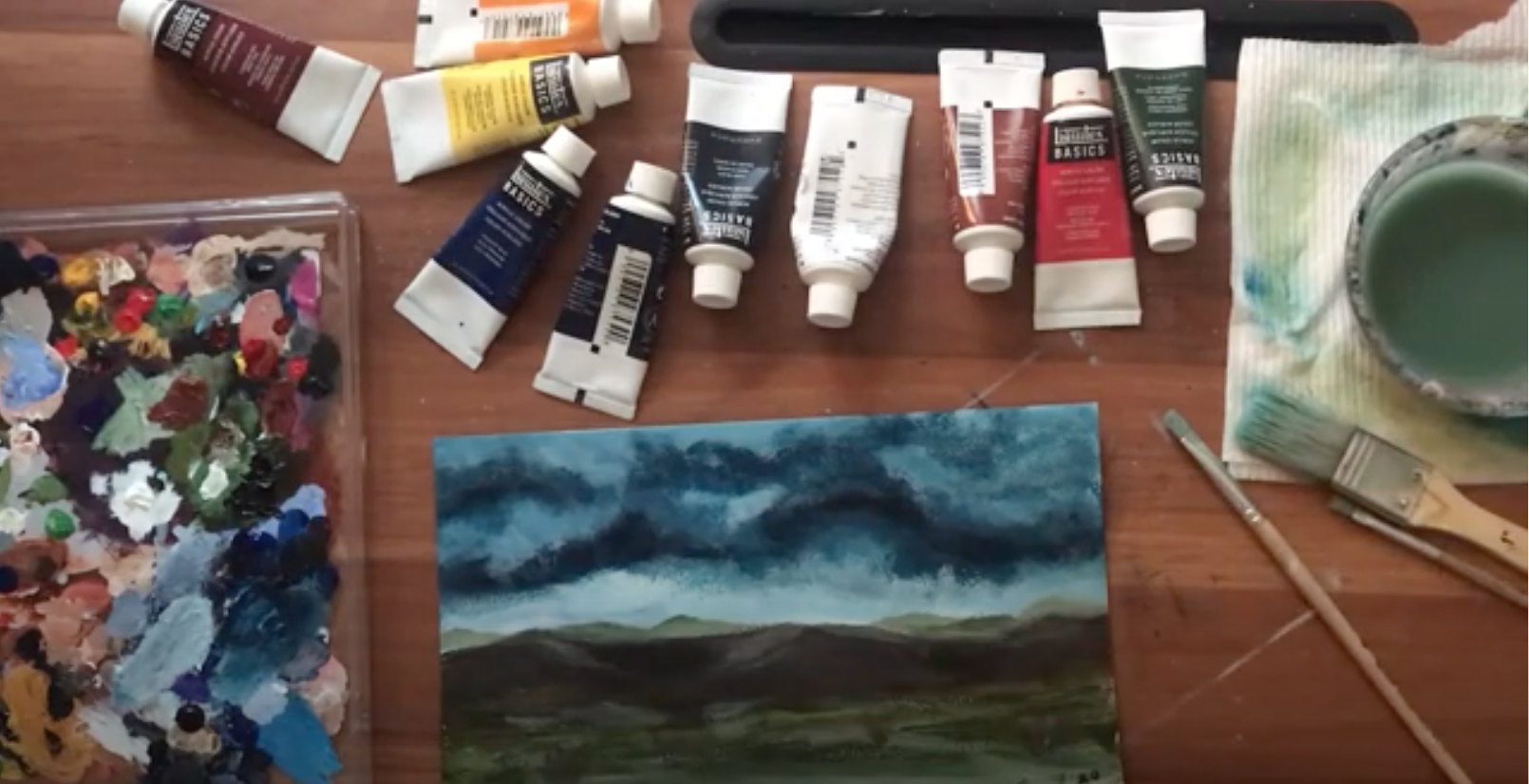 Art Adventures with Miss Elise: J.M.W. Turner and an Emotion Painting Craft