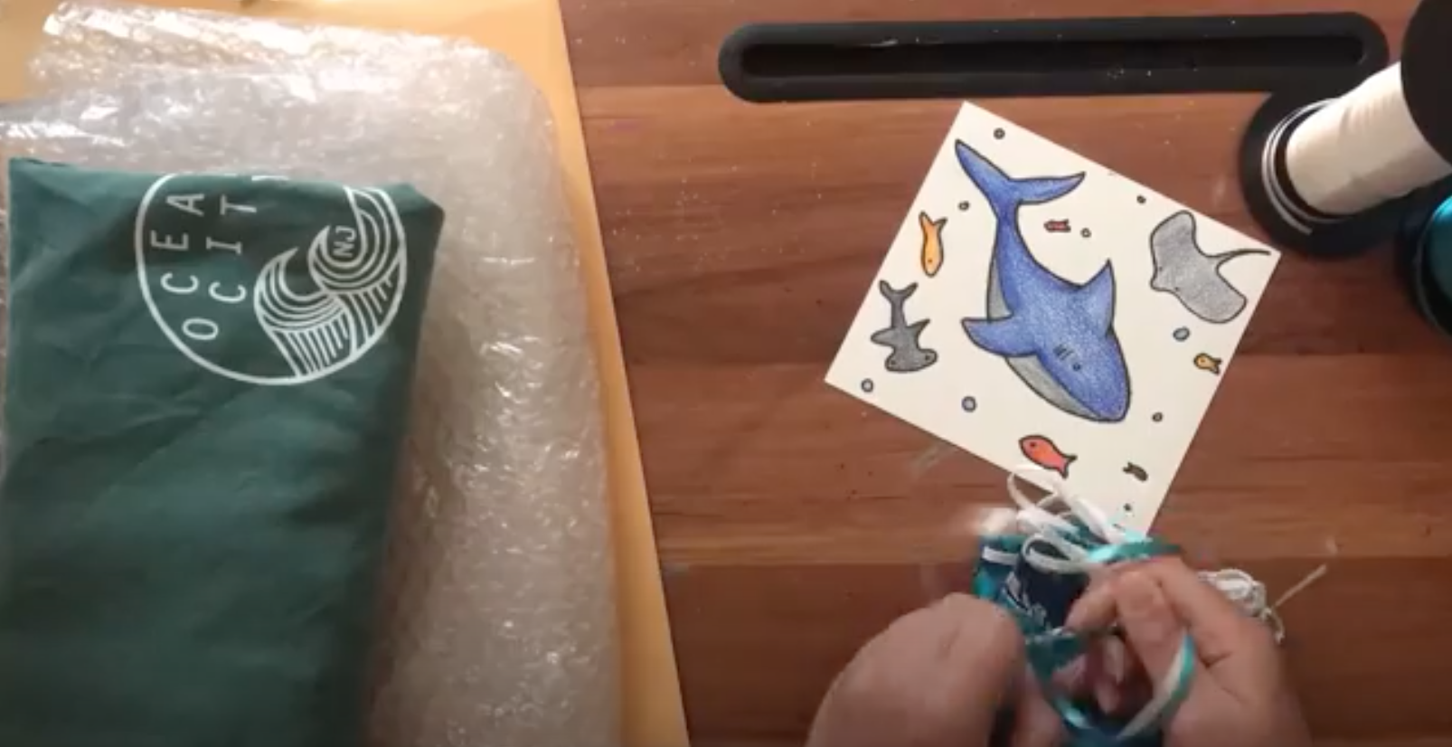 Crafts with Miss Elise: Making a Care Package
