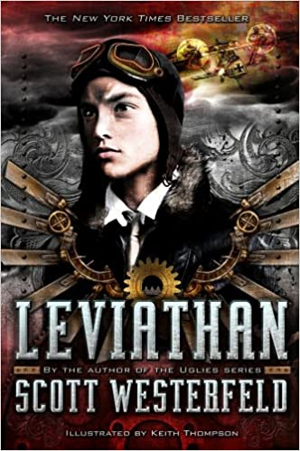 book cover of leviathan by scott westerfeld