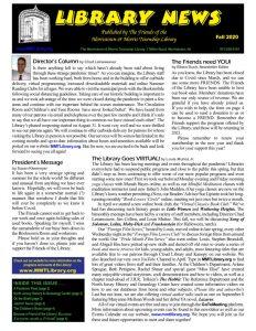 thumbnail of FAll 2020 Library News