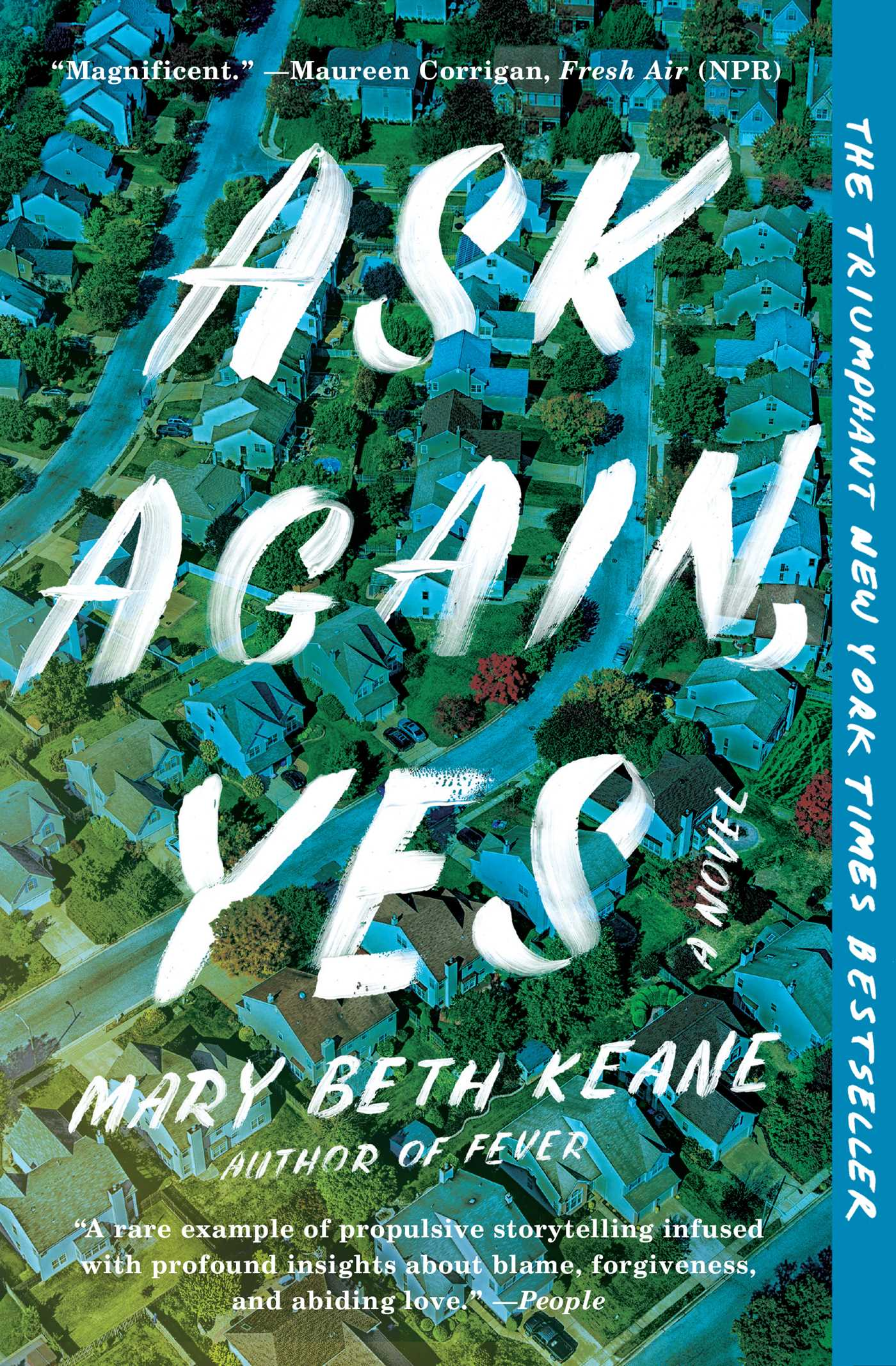 "Virtual Evening Book Club: ""Ask Again, Yes"""