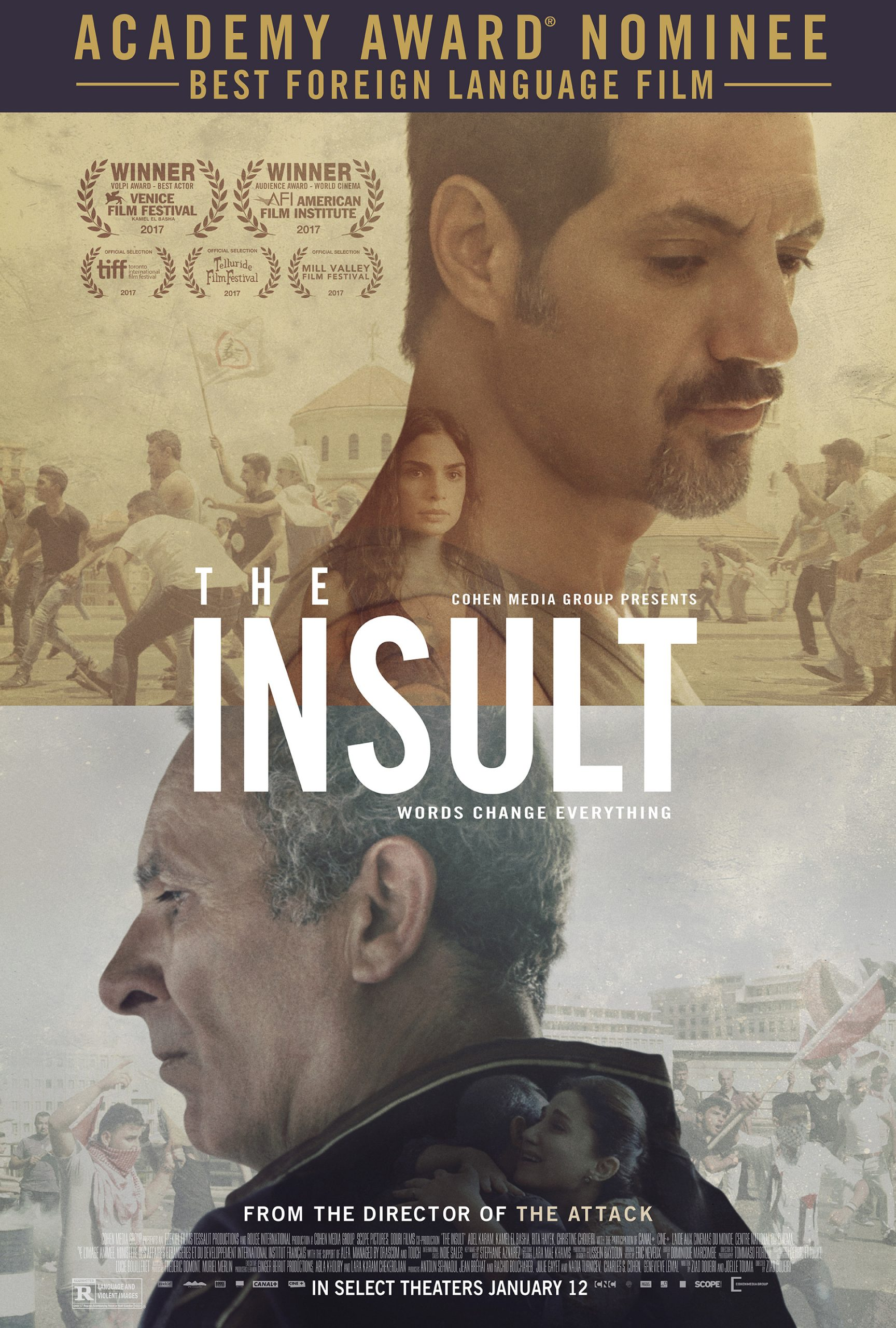 "Foreign Film Lovers Club: ""The Insult"""