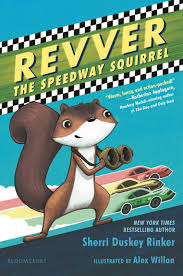 Book of the Day: Revver the Speedway Squirrel