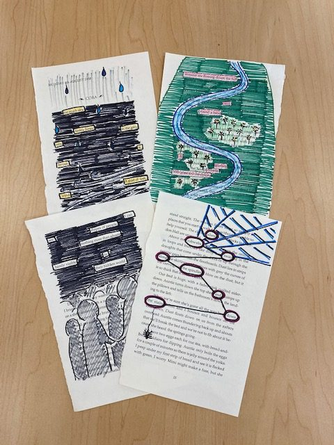 Teen Take & Make - Blackout Poetry