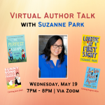 Virtual Author Talk with Suzanne Park