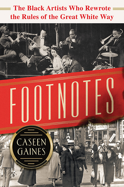 Footnotes: an author talk by Caseen Gaines