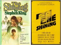 """From Page to Screen: Book and Movie Club: """"The Shining"""", Written by Stephen King; film directed by Stanley Kubrick"""
